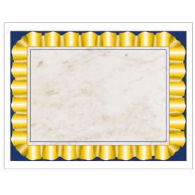 "Gold Ribbon Border Paper, 8.5"" x 11"", Pack of 50"