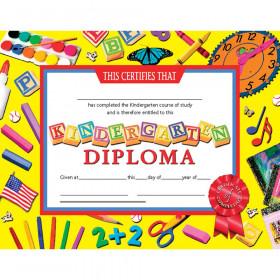 "Kindergarten Diploma, 8.5"" x 11"", Pack of 30"
