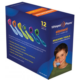 WhisperPhone VarietyPak of 12, 2 each of 6 colors