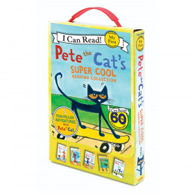 Pete the Cat's Super Cool Reading Collection, Set of 5