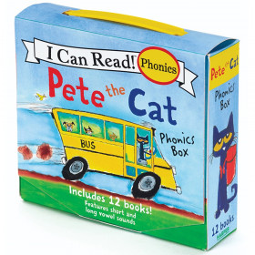 I Can Read! Pete the Cat Phonics Box, Set of 12 Books