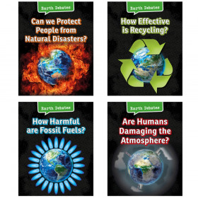 Earth Debates Book Set, Set of 4