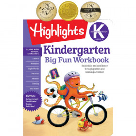 Big Fun Workbooks, Kindergarten