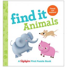 Find It Animals Board Book