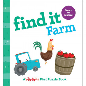 Find It Farm Board Book