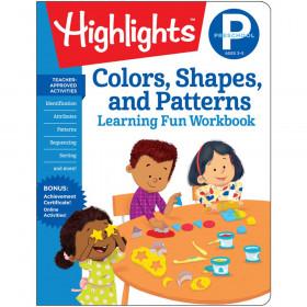 Learning Fun Workbooks, Preschool Colors, Shapes & Patterns