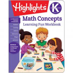 Learning Fun Workbooks, Kindergarten Math Concepts
