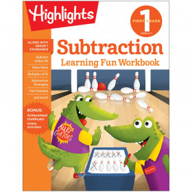 Learning Fun Workbooks, First Grade Subtraction