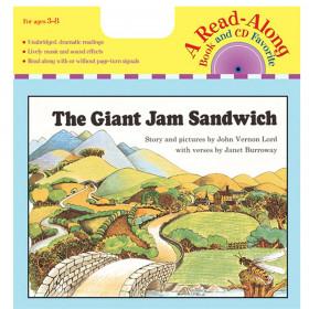 The Giant Jam Sandwich Carry Read-Along Book & CD