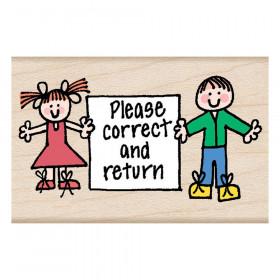 Hero Kids Correct & Return Stamp