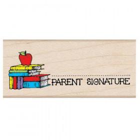 Parent Signature with Apple Stamp