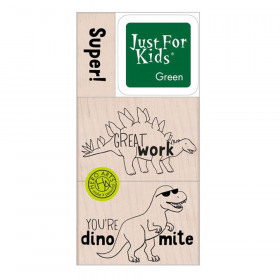 Super Dino Stamp Set