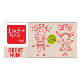 Hero Kids Stamp Set
