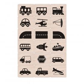 Ink 'n' Stamp Toy Vehicles