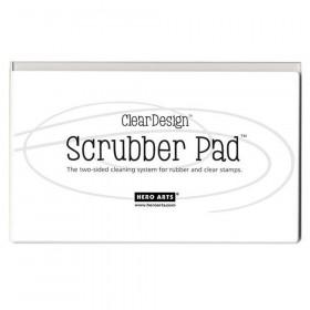 Clear Design Scrubber Pad