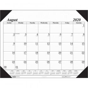 "Economy Academic Monthly Desk Pad Calendar, 17 Months August-December, 22"" x 17"""