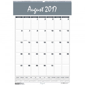 "Bar Harbor Academic Wall Calendar, 22""L, 15.5""W"
