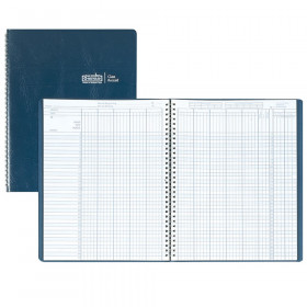 Class Record Book 9-10 Week Grading Period Blue Simulated Leather