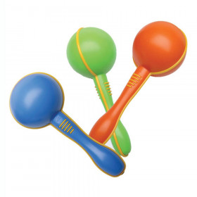Mini Maracas, Assorted Colors, Pair