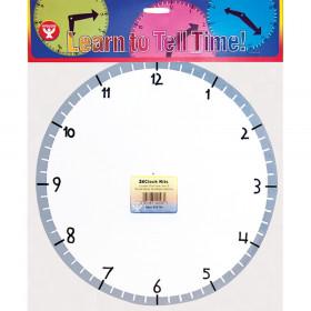 Blank Clock Kit, 24 clocks