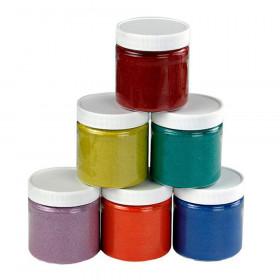 Colored Sand, 6 oz. Jars, 6 Colors