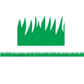 Green Grass Mighty Brights Border