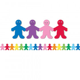 Rainbow People Mighty Brights Border