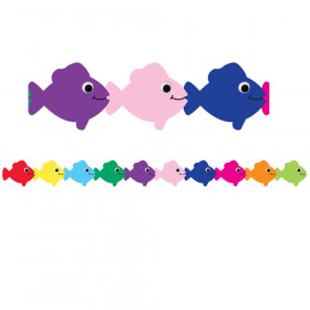 Multi Color Fish Die Cut Classroom Border