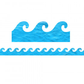 Ocean Waves Border