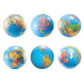 "6"" Globes Die Cut Accents"