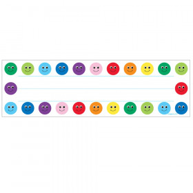 Smiley Name Plates, 36/pkg