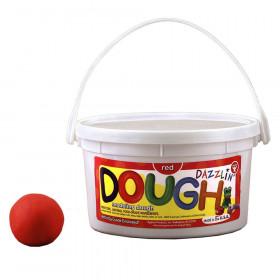 Dazzlin' Dough, Red, 3 lb. tub