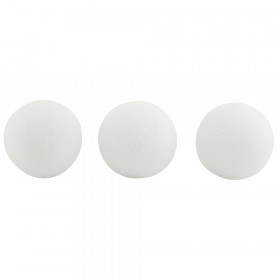 Styrofoam Balls, 3 Inch, Pack of 50