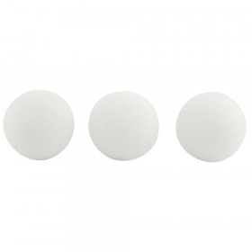Styrofoam Balls, 3-Inch, 12 Per Pack