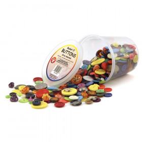 Bucket 'O Buttons, 16 oz. Assortment