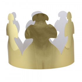 Bright Gold Tag Crowns