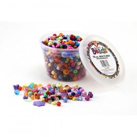 Bucket O' Beads, 10 oz. Multi Mix