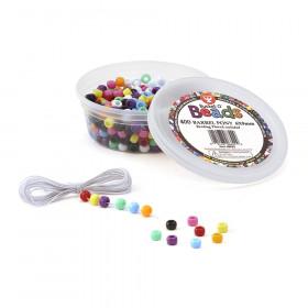 Bucket O' Beads, Barrel Pony, 6 x 9 mm, Pack of 400