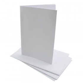 "Blank Paperback Books, 5.5"" x 8.5"", White, Pack of 20"