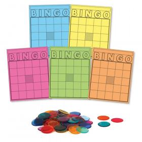 Classroom Bingo Set, 1000 Chips, 50 Cards