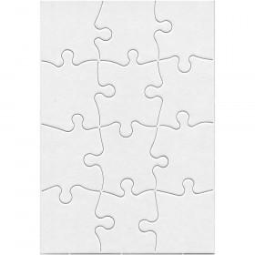 """Compoz-A-Puzzle, 5 1/2"""" x 8"""" Rectangle, 12 pieces"""
