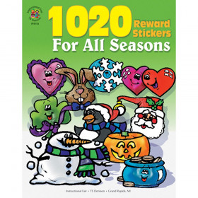 1020 Reward Stickers For All Seasons Sticker Book Grade PK-6 Paperback