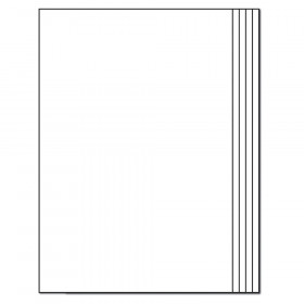 Rectangle Blank Book for Young Authors Resource Book, Grade K-3, Paperback, Pack of 12