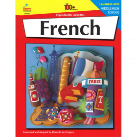 French Resource Book, Grade 6-12, Paperback