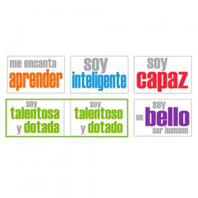 Self-Esteem Posters, Spanish, Pack of 5