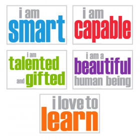 Self-Esteem Posters, Pack of 5