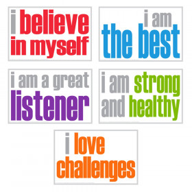 Positivity Posters, Pack of 5