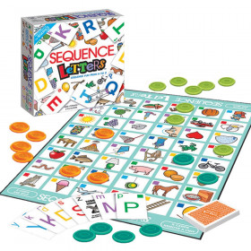 Sequence Letters Board Game for Kids