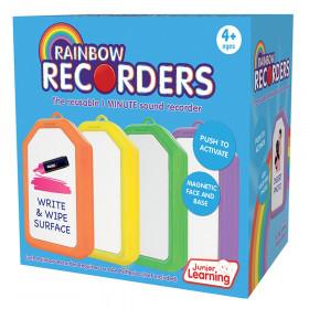 Rainbow Recorders, Set of 4