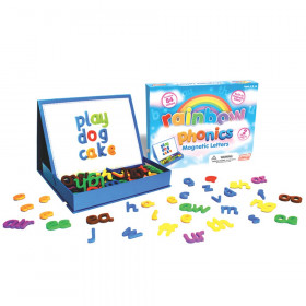 Rainbow Phonics Magnetic Letters, 85 Pieces